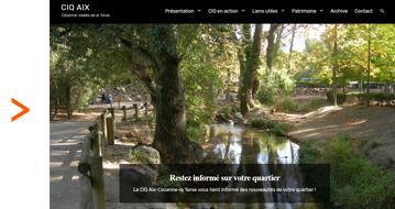nouveau site du CIQ Cézanne torse