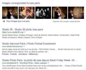 SEO : Images dans la recherche Google